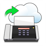 Fax Forward to Cloud or Email icon
