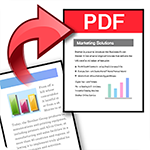Scan to Searchable PDF icon